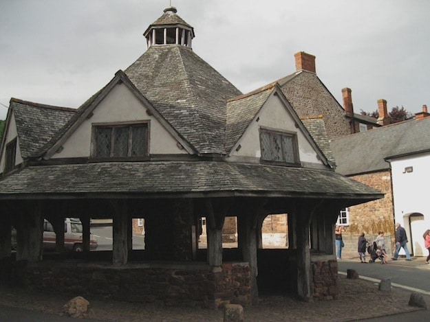 This octagonal market was the center for trading wool