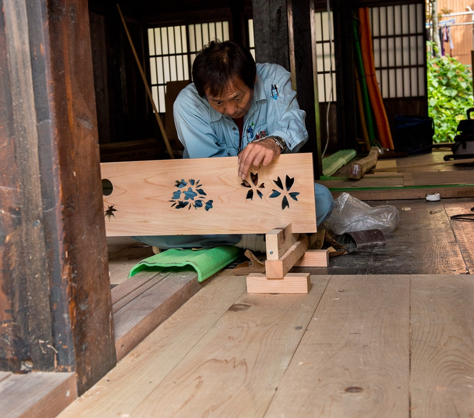 Japanese craftsman Shirakowa-go