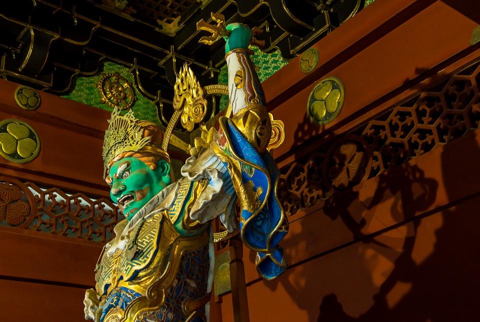 Temple guardian Nikko Toshugu shrine