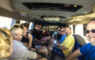 aussie hummer limo party