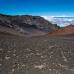 Haleakala Volcano Crater, Maui, Hawaii