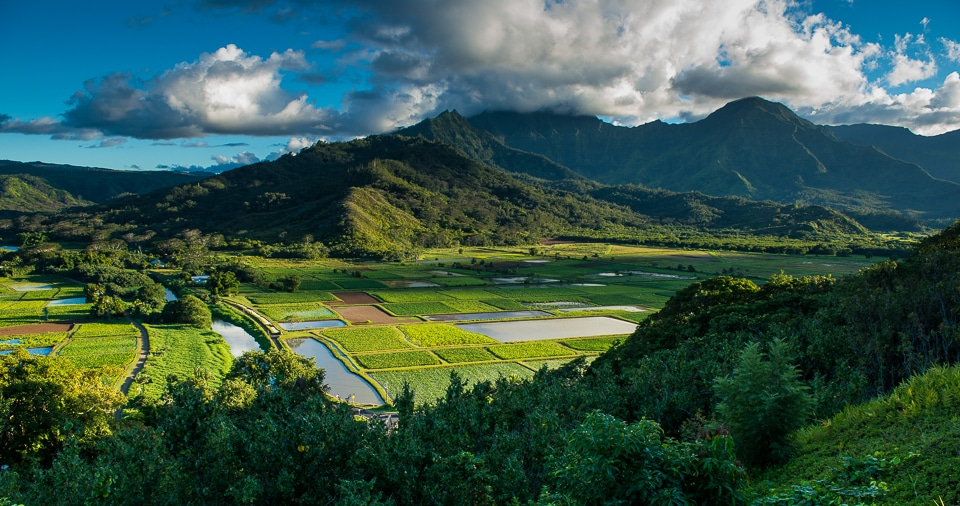 Valley near Hanalei, Kauai, Hawaii - Travel Past 50 After The Sunset