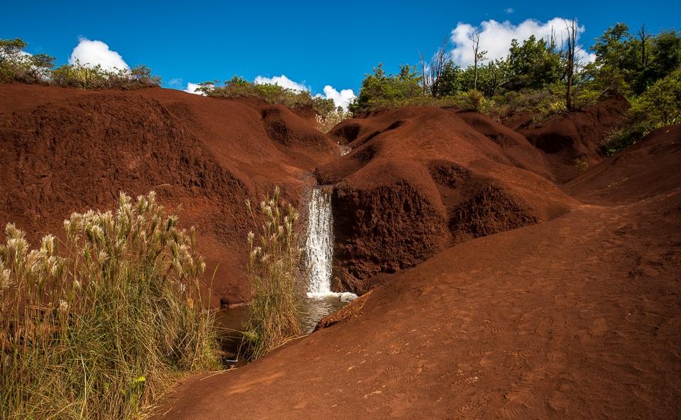 mountain stream waimea canyon kauai