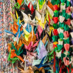 Origami Prayer Strings, Shinto Temple, Takayama, Japan