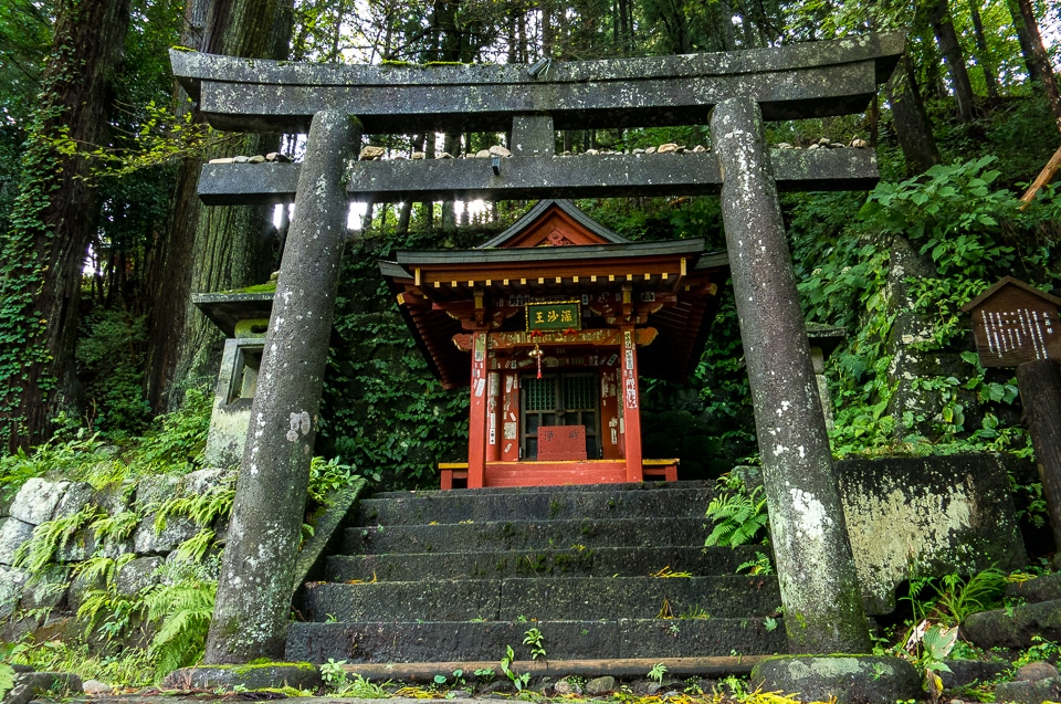 roadside shinto shrine Nikko