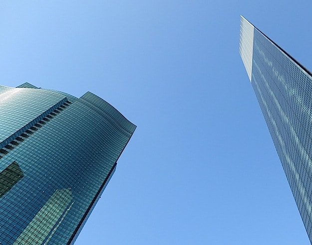 Skyscrapers in Ginza
