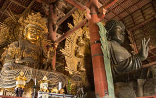 Nara big buddha Todai-ji