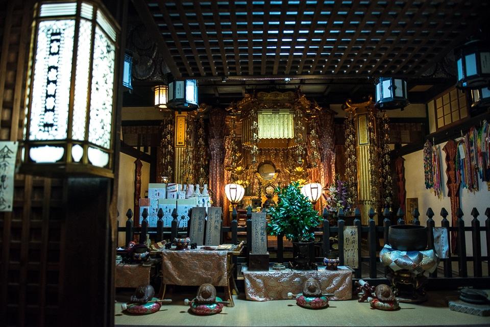 Nara shinto buddhist shrine