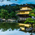 The Temple of the Golden Pavilion, Kyoto, Japan