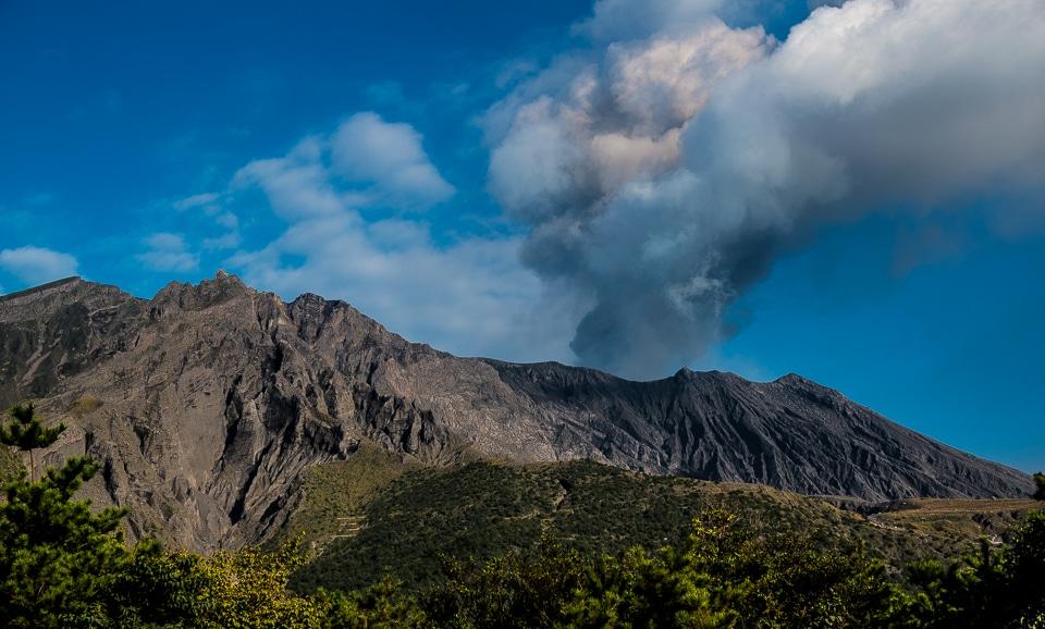 sakurajima volcano kagoshima japan