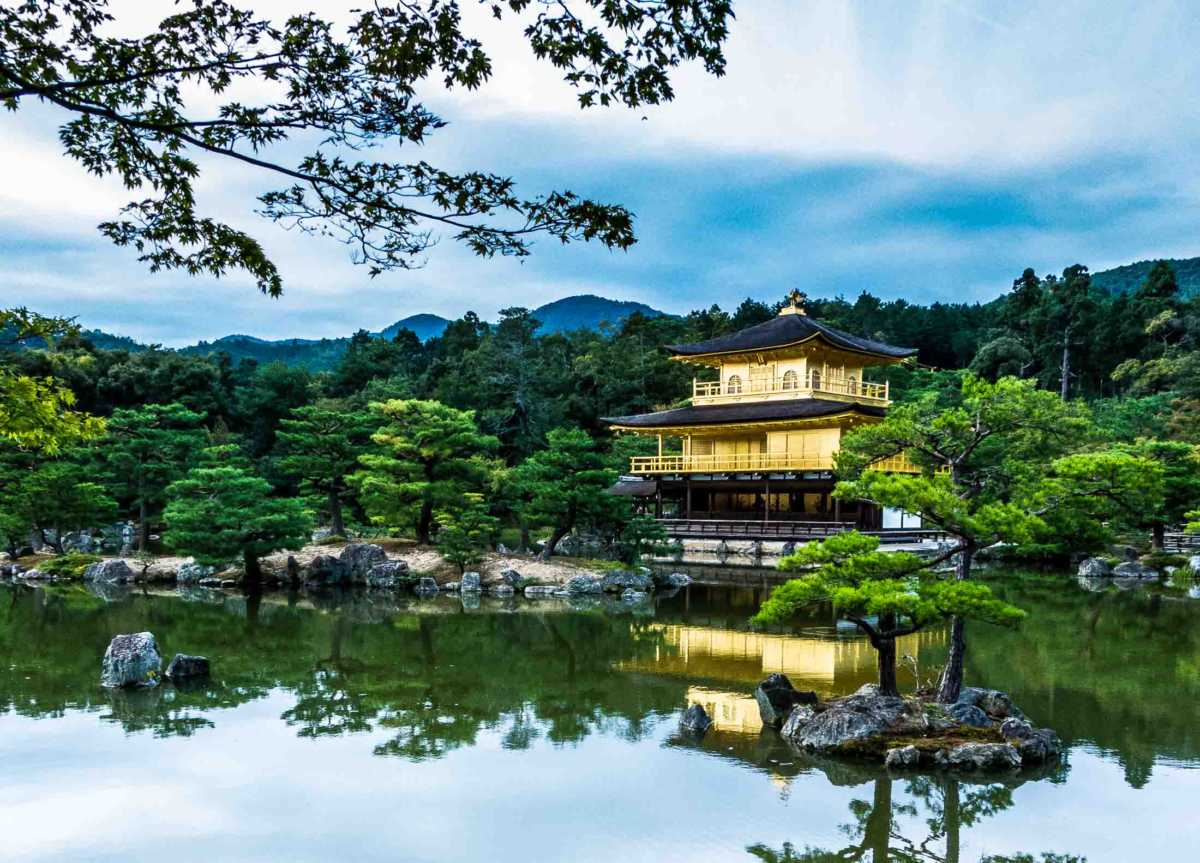 temple golden pavilion kyoto h