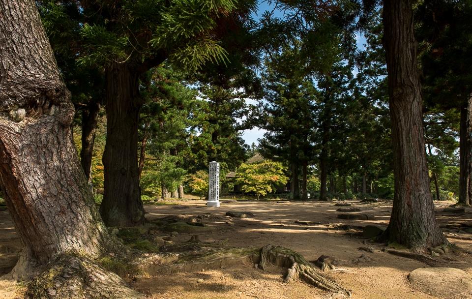 temple marker Hiraizumi