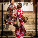 Women Taking Each Other's Photo, Nara, Japan