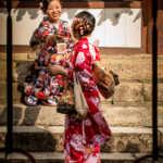 Women Taking Each Other's Photo, Nara, Japan