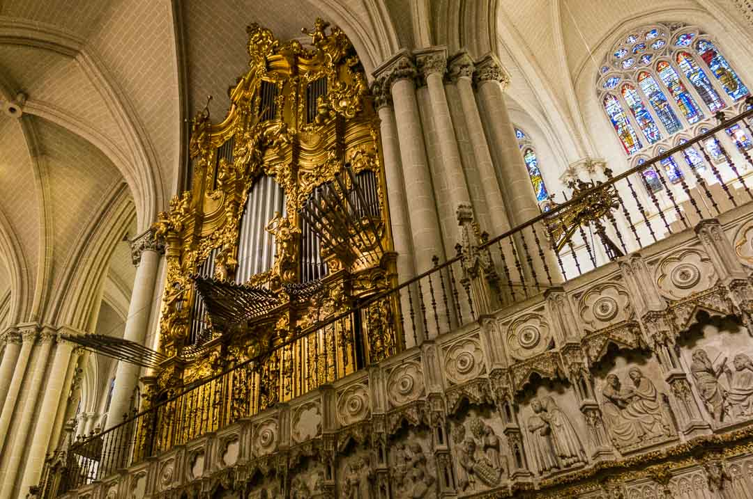 toledo cathedral organ and choir
