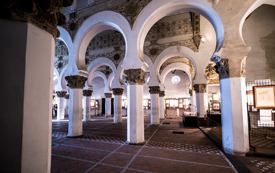 synagogue Santa Maria la Blanca Toledo Spain