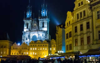 Christmas market prague CZ