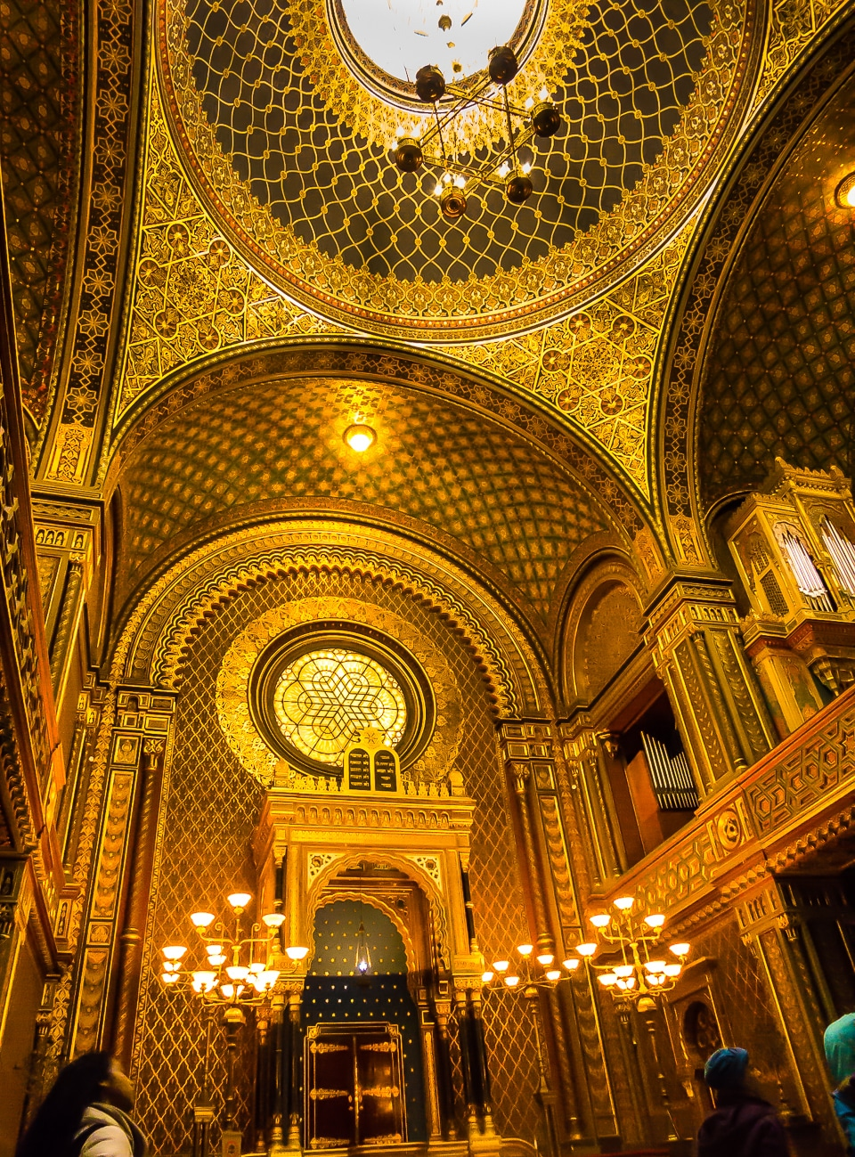Spanish Synagogue Prague Czech