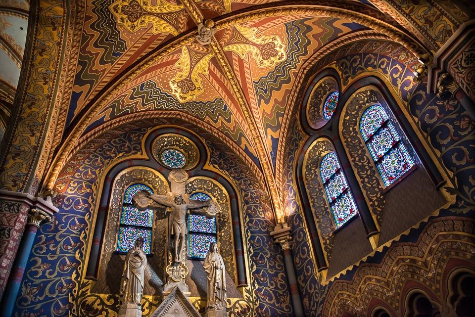 mattias church chapel budapest