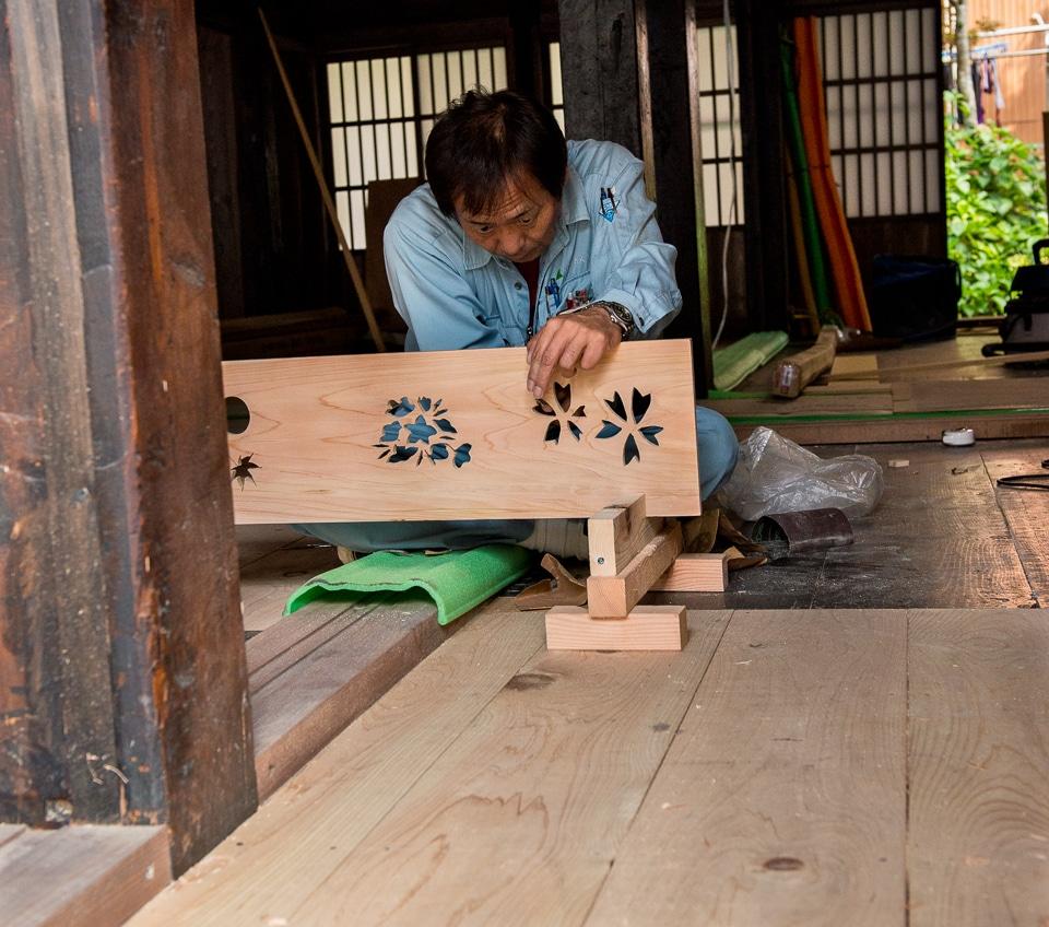 Japanese craftsman Shirakowa-go
