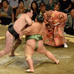 Sumo national tournament Tokyo