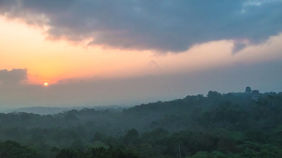 Tikal at Dawn 2