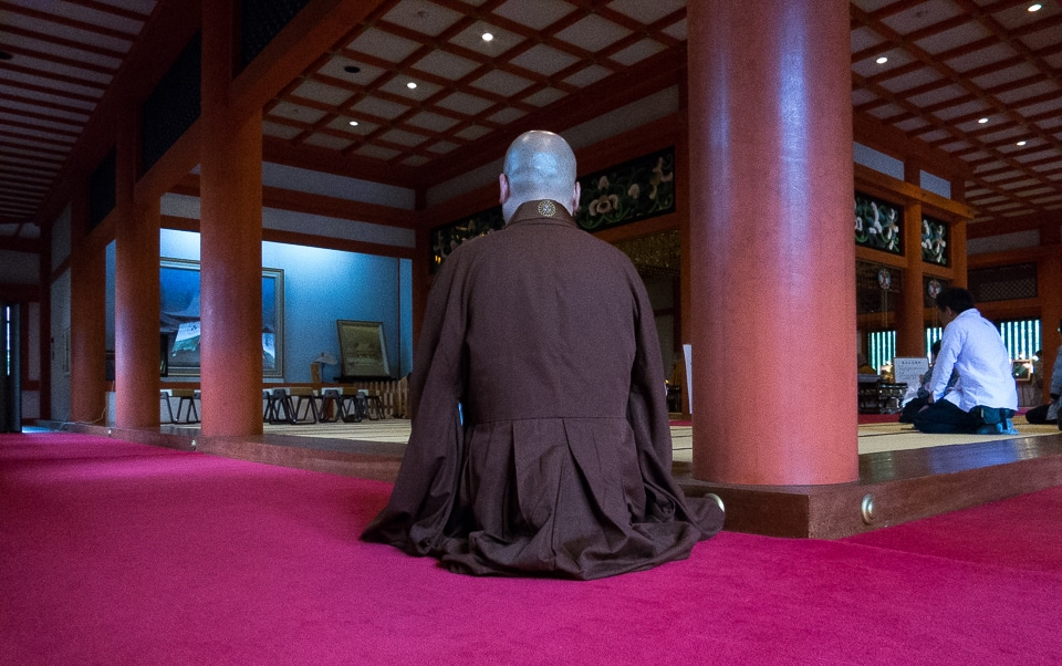 monk hiraizumi japan