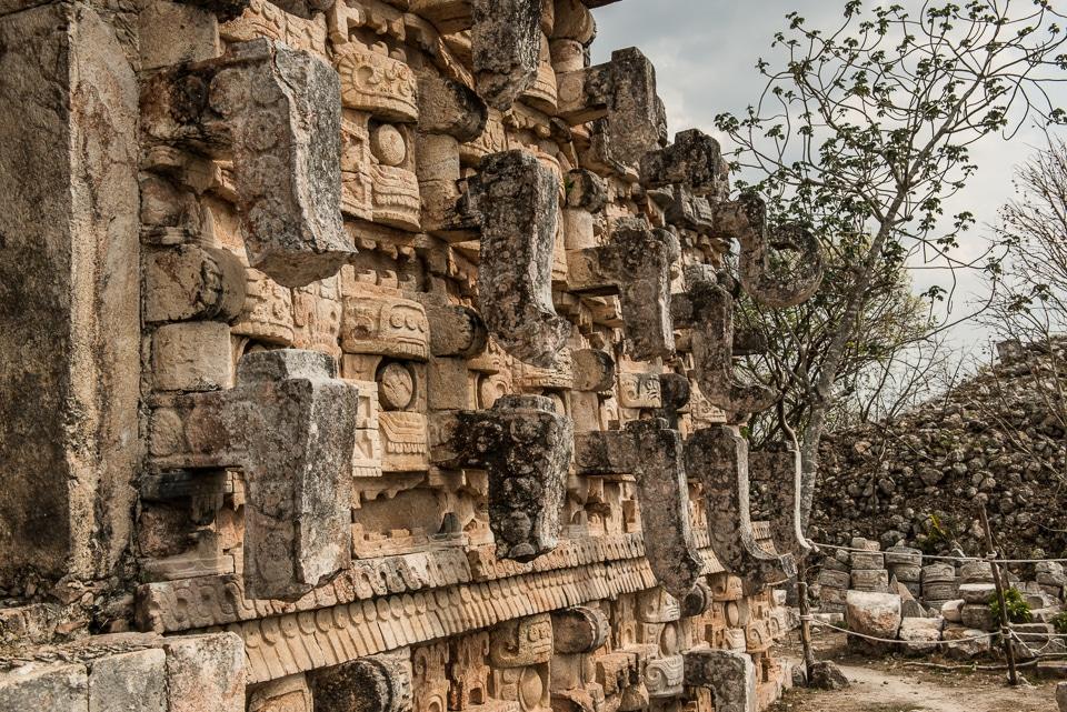 temple carvings kabah yucatan 2