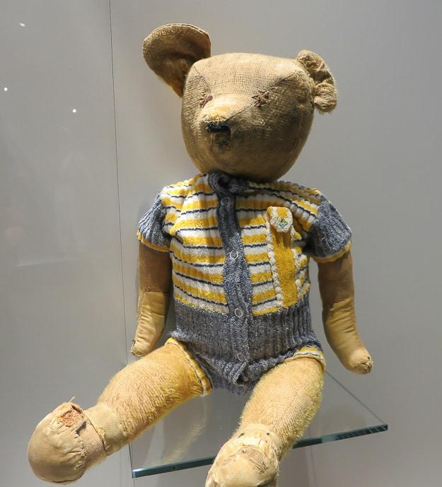 Bastogne teddy bear