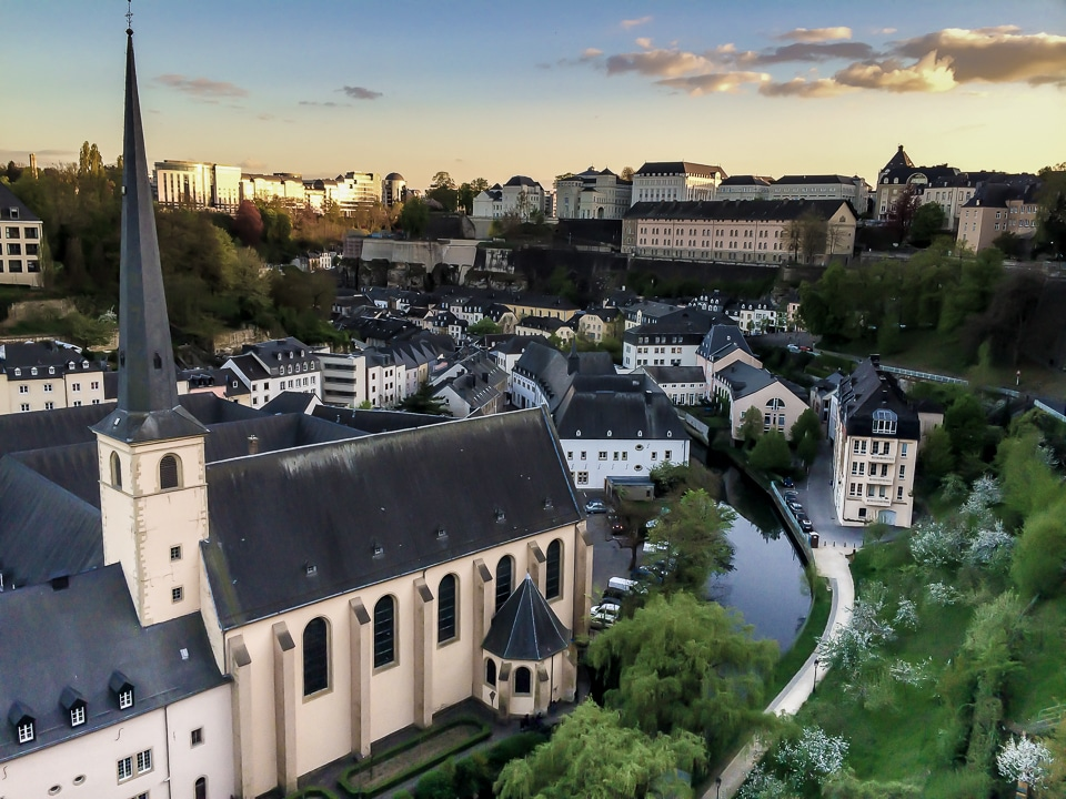 Luxembourg lower city