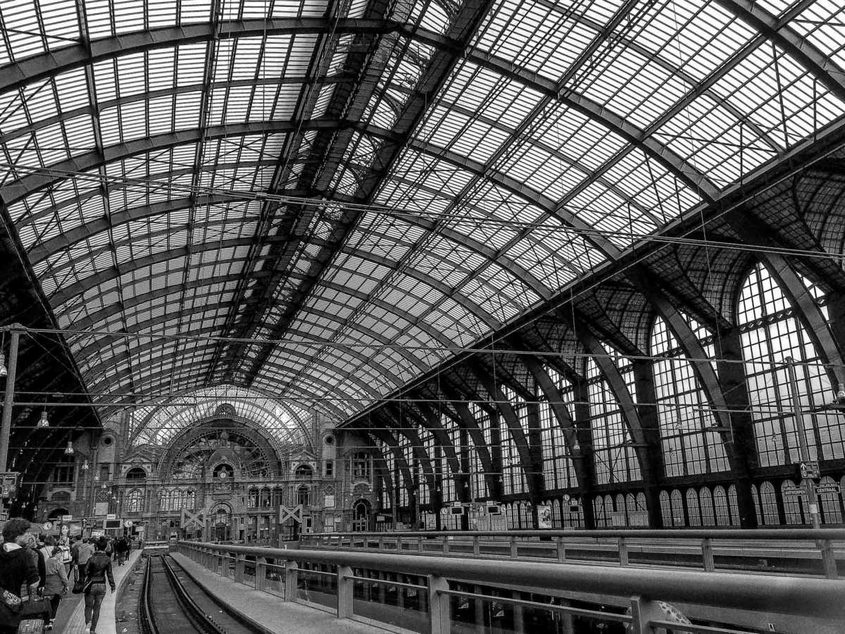 Why we travel. The romance of train stations.