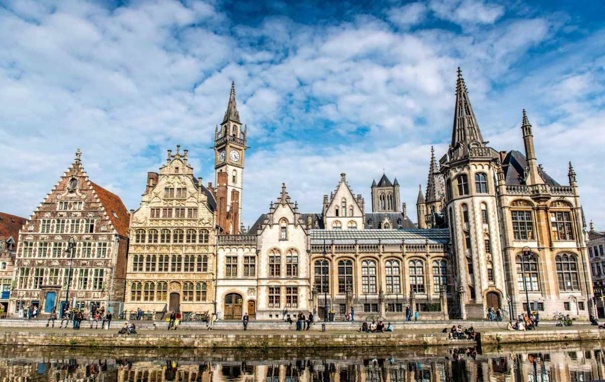 Rooftops, Spires, and Façades, Ghent, Belgium - Travel Past 50