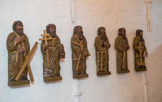 Jelling church carvings
