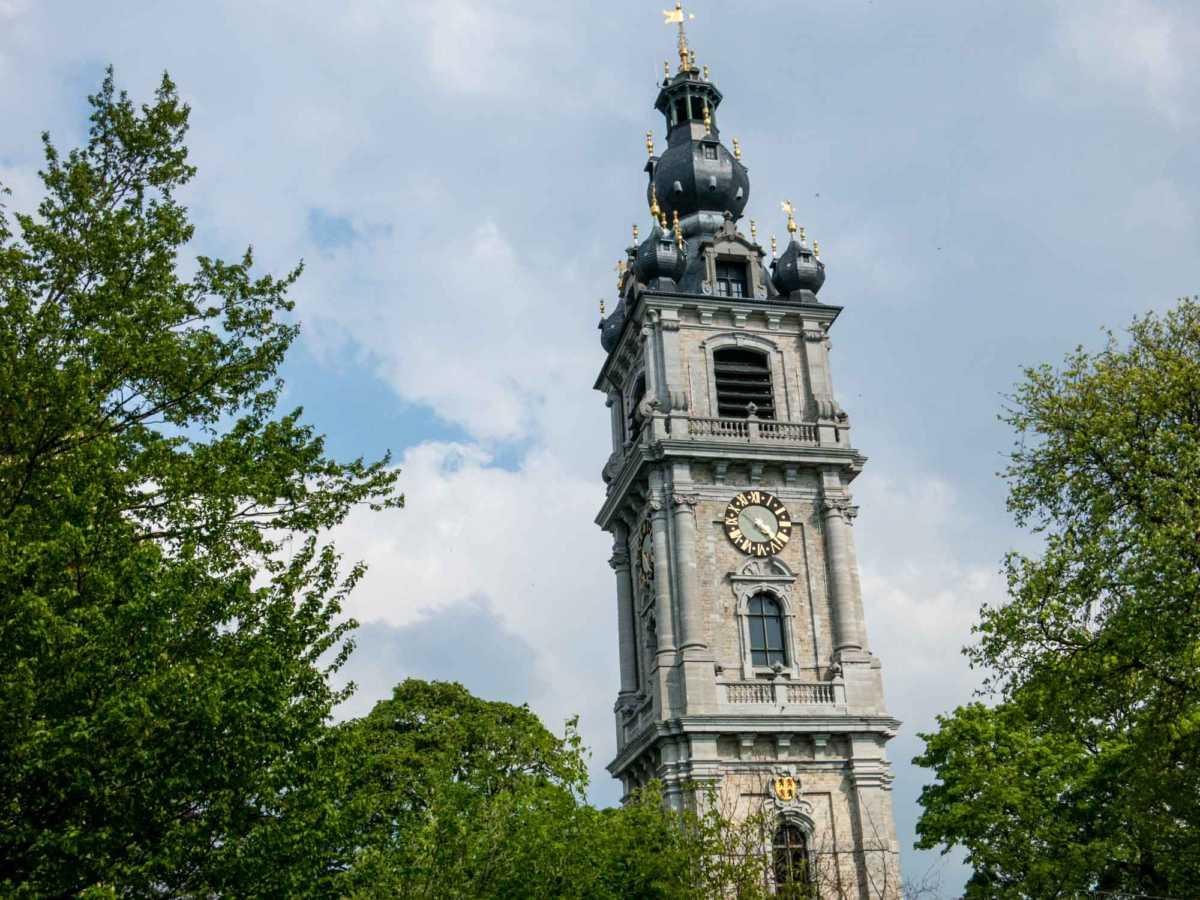 bell tower mons belgium