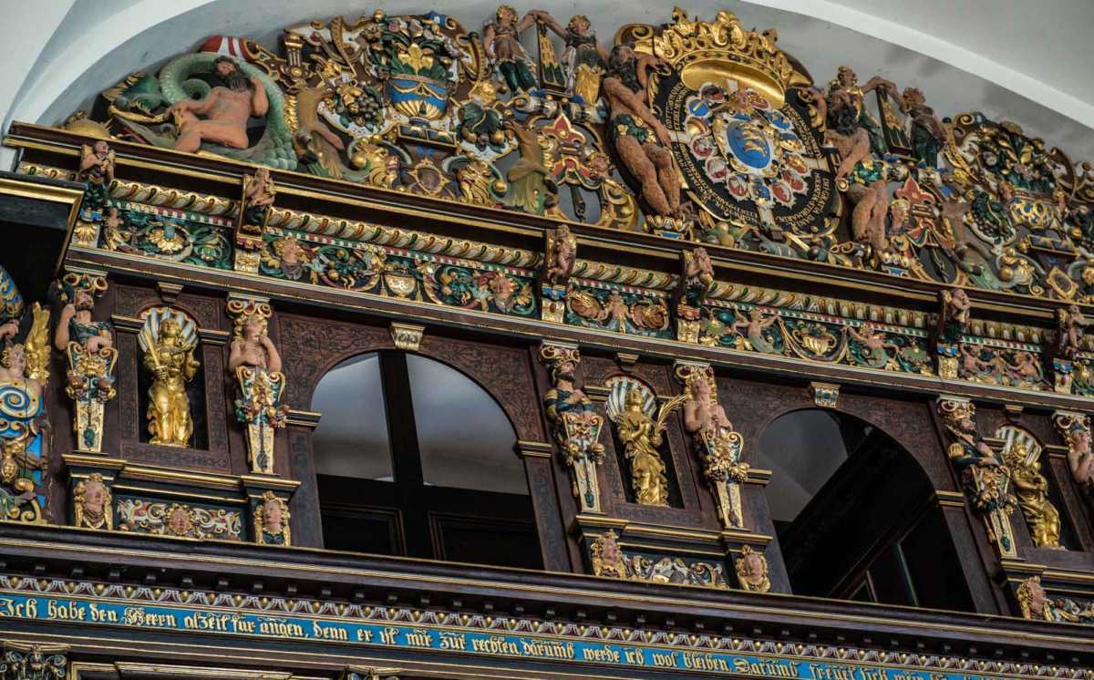 Kronborg castle helsingor chapel gallery