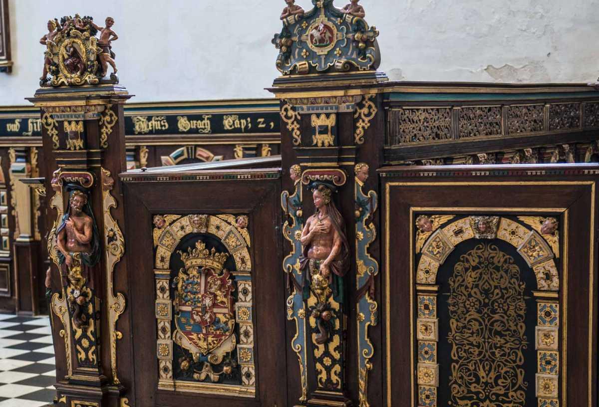 helsingor kronborg castle chapel pews 2