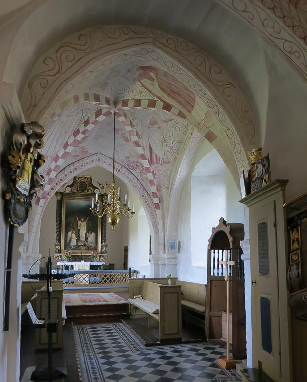 Brönnestad Kyrka, where my grandfather was baptized.