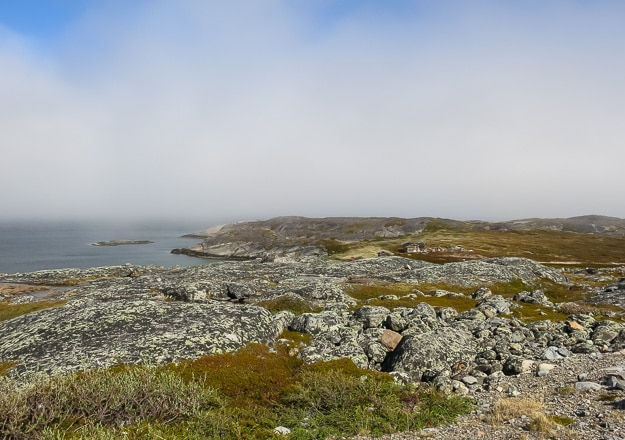 From Norway's northern coast, looking across the fjord to the Barents Sea, just one wild corner of the Arctic Ocean.