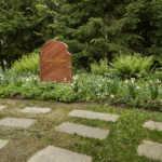 Greta Garbo's Grave, Skogskyrkogården Cemetery, Stockholm, Sweden