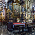 Altar Portrait of John Paul II, Basilica, Krakow, Poland