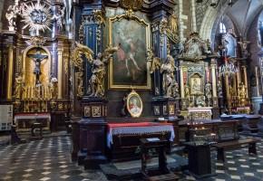 krakow basilica pope john paul II