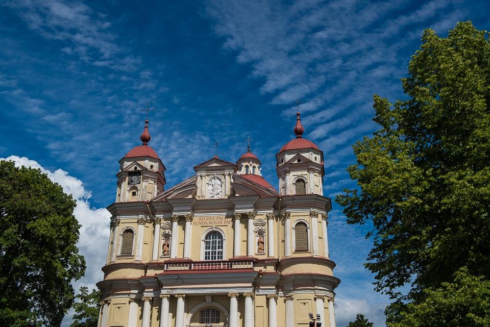 peter paul church vilnius lithuania O