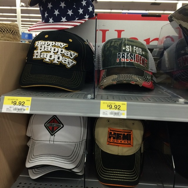 Iowa Walmart has a full line of Duck dynasty ball caps!
