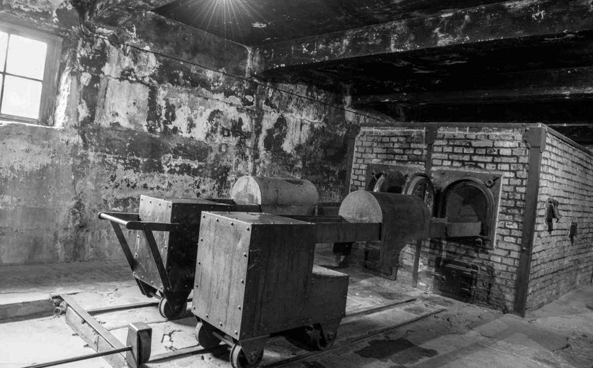 furnaces Auschwitz