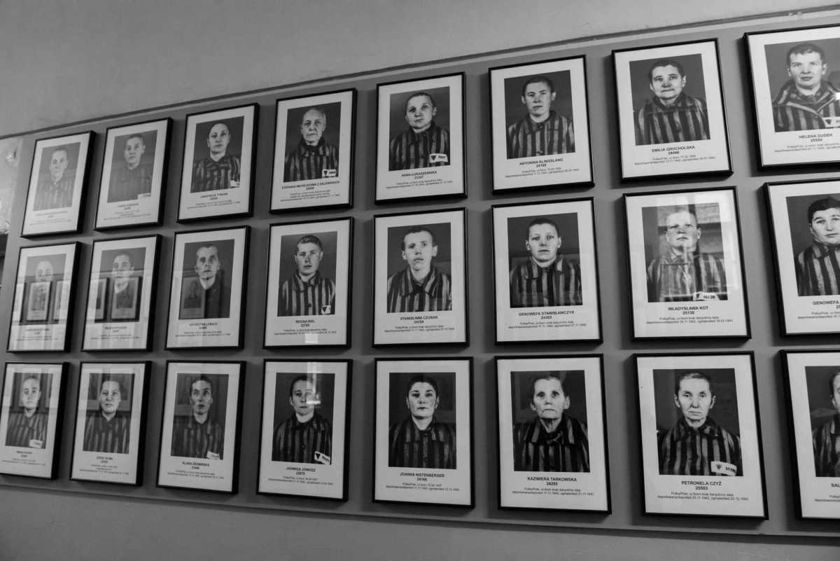 prisoner photos Auschwitz