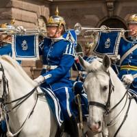 royal ceremonial parade stockholm