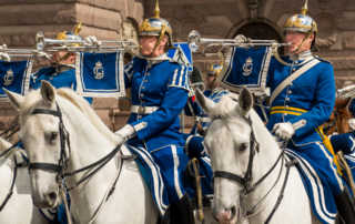 royal ceremonial parade stockholm
