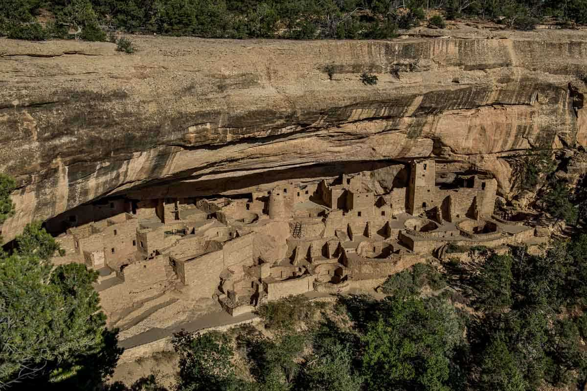 USA Colorado Mesa Verde national park cliff palace 1