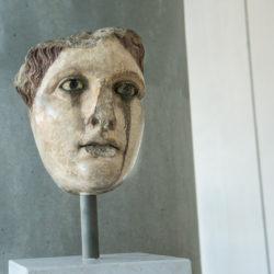 bust parthenon museum athens