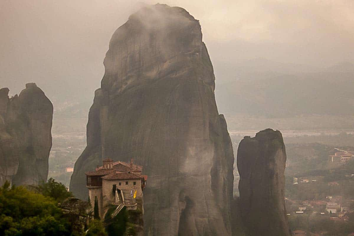 Monastery Mountain What to see in Meteora